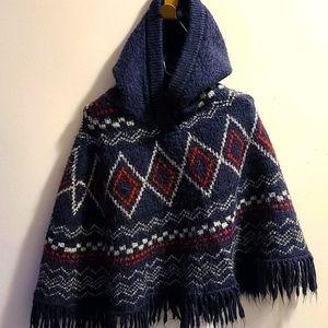 🎧3/$25 Sz4 OshKosh hooded poncho